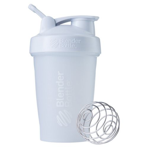 Blender Bottle, BlenderBottle, Classic With Loop, White, 20 oz Review