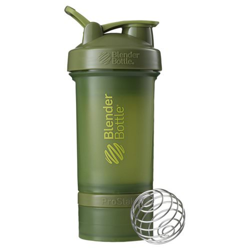 Blender Bottle, BlenderBottle, ProStak, Moss Green, 22 oz Review