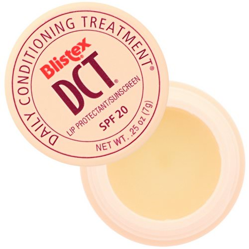 Blistex, DCT (Daily Conditioning Treatment) for Lips, SPF 20, 0.25 oz (7.08 g) Review
