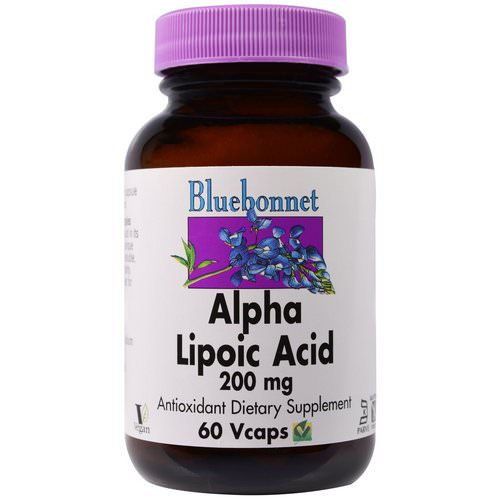 Bluebonnet Nutrition, Alpha Lipoic Acid, 200 mg, 60 Vcaps Review