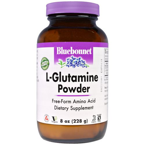 Bluebonnet Nutrition, L-Glutamine Powder, 8 oz (228 g) Review