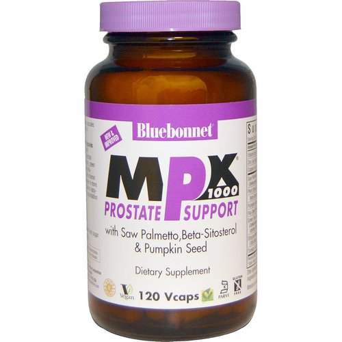 Bluebonnet Nutrition, MPX 1000, Prostate Support, 120 Vcaps Review