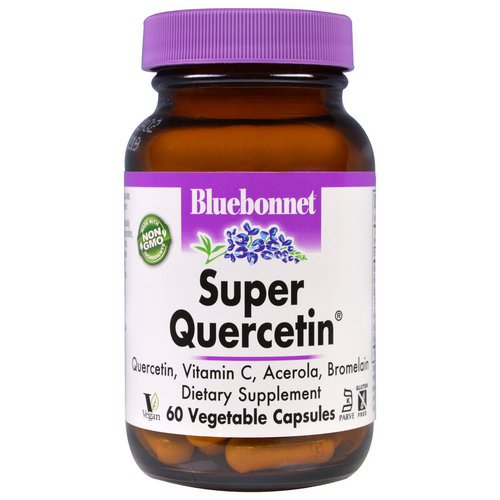 Bluebonnet Nutrition, Super Quercetin, 60 Veggie Caps Review
