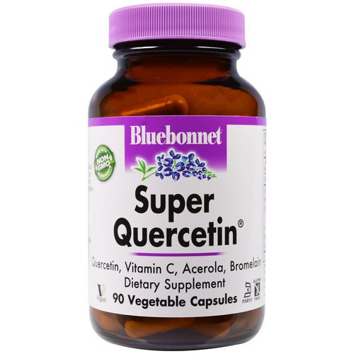 Bluebonnet Nutrition, Super Quercetin, 90 Veggie Caps Review