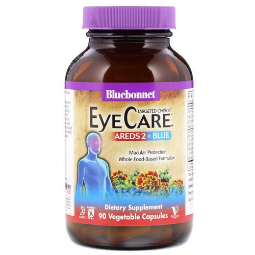 Bluebonnet Nutrition, Targeted Choice, Eye Care, 90 Vegetable Capsules Review