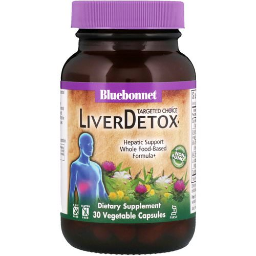 Bluebonnet Nutrition, Targeted Choice, Liver Detox, 30 Vegetable Capsules Review