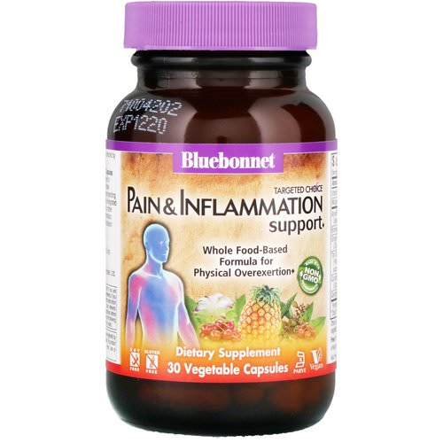 Bluebonnet Nutrition, Targeted Choice, Pain & Inflammation Support, 30 Vegetable Capsules Review