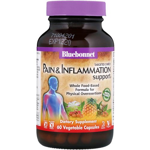 Bluebonnet Nutrition, Targeted Choice, Pain & Inflammation Support, 60 Vegetable Capsules Review