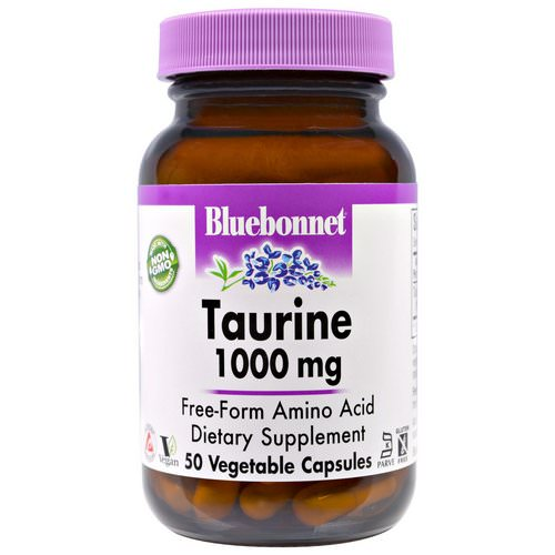 Bluebonnet Nutrition, Taurine, 1,000 mg, 50 Veggie Caps Review