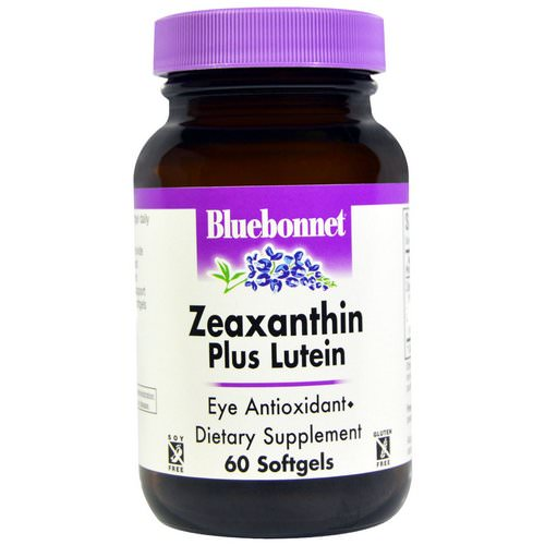 Bluebonnet Nutrition, Zeaxanthin Plus Lutein, 60 Softgels Review