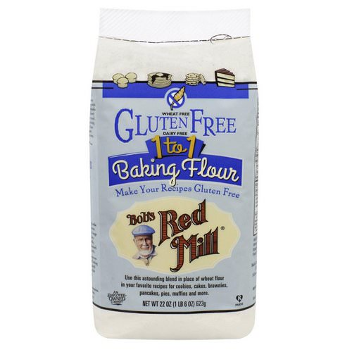 Bob's Red Mill, 1 to 1 Baking Flour, 22 oz (623 g) Review