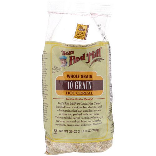 Bob's Red Mill, 10 Grain Hot Cereal, Whole Grain, 1.56 lbs (708 g) Review