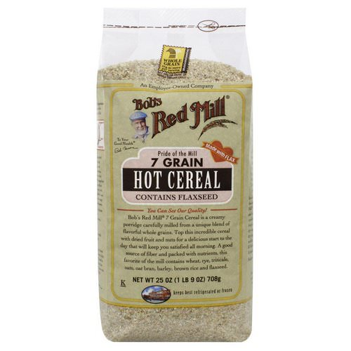 Bob's Red Mill, 7 Grain Hot Cereal, 1.56 lbs (708 g) Review