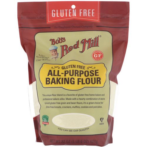 Bob's Red Mill, All Purpose Baking Flour, Gluten Free, 22 oz (624 g) Review
