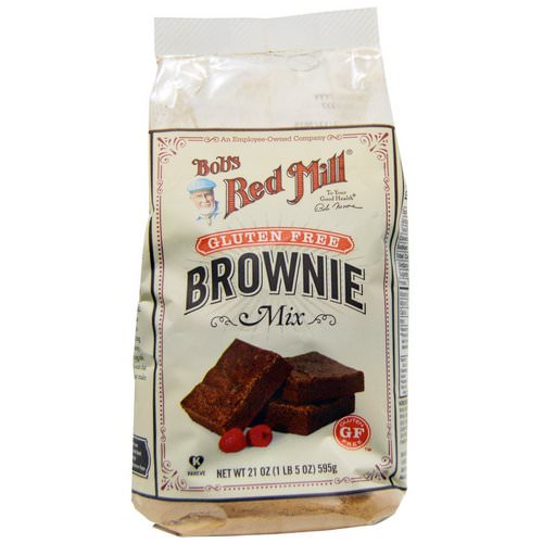 Bob's Red Mill, Brownie Mix, Gluten Free, 21 oz (595 g) Review