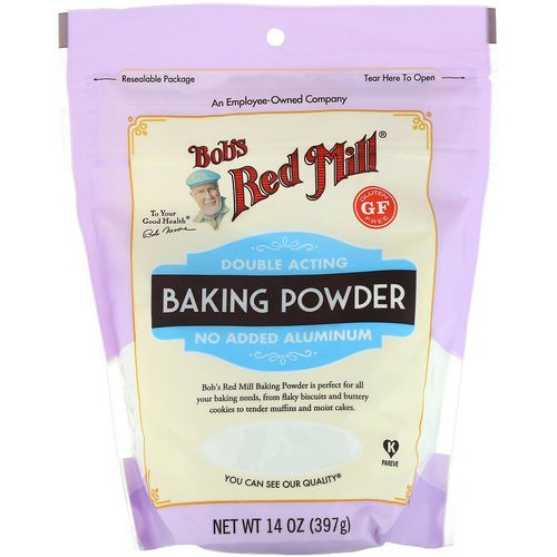 Bob's Red Mill, Double Acting Baking Powder, Gluten Free, 14 oz (397 g) Review