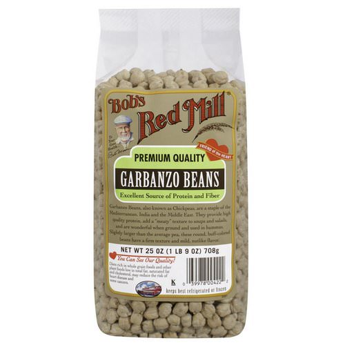 Bob's Red Mill, Garbanzo Beans, 25 oz (708 g) Review