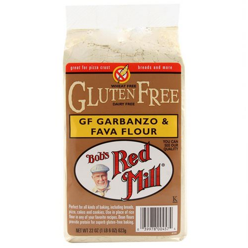 Bob's Red Mill, GF Garbanzo & Fava Flour, 22 oz (623 g) Review