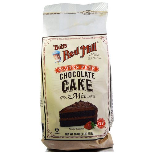 Bob's Red Mill, Gluten Free Chocolate Cake Mix, 16 oz (453 g) Review