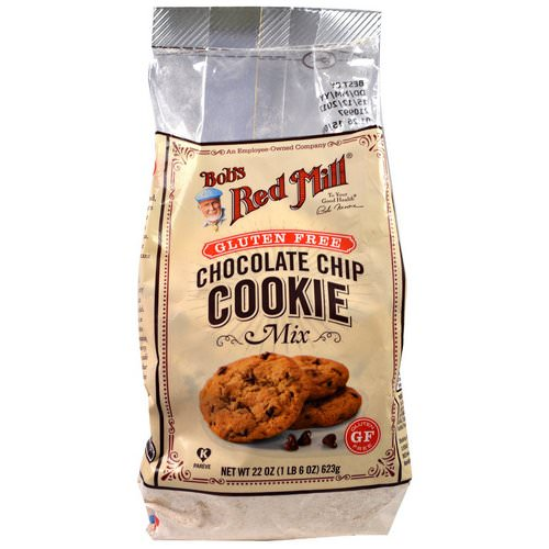 Bob's Red Mill, Gluten Free Chocolate Chip Cookie Mix, 22 oz (623 g) Review