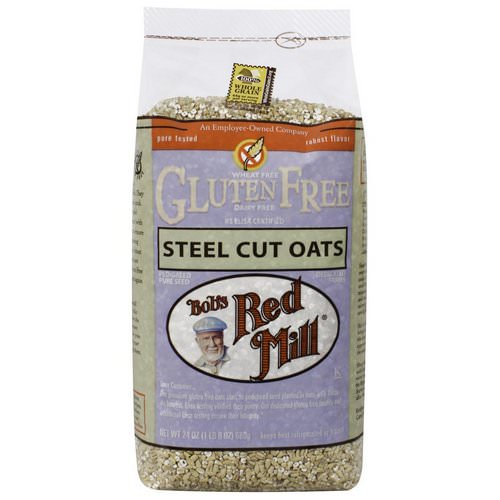 Bob's Red Mill Hot Cereals Gluten Free Steel Cut Oats