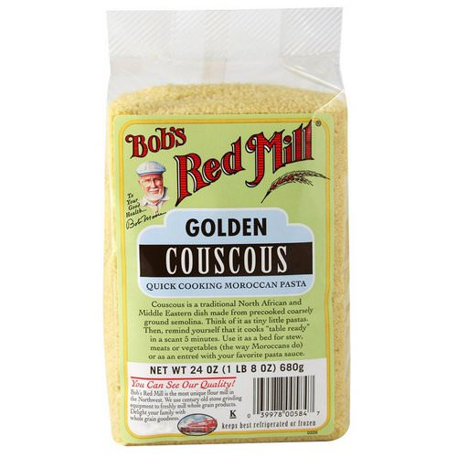 Bob's Red Mill, Golden Couscous, 24 oz (680 g) Review