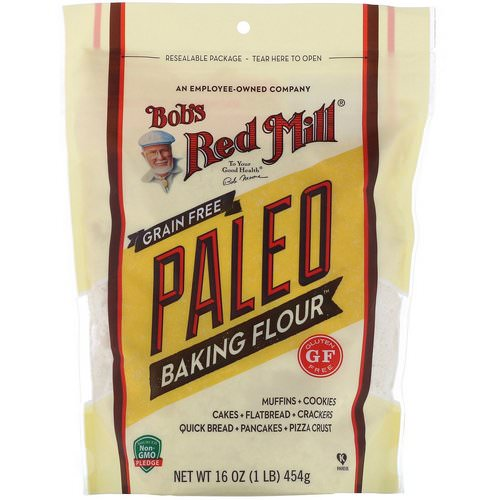 Bob's Red Mill, Grain Free Paleo Baking Flour, Gluten Free, 16 oz (454 g) Review