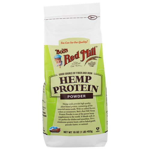 Bob's Red Mill, Hemp Protein Powder, 16 oz (453 g) Review