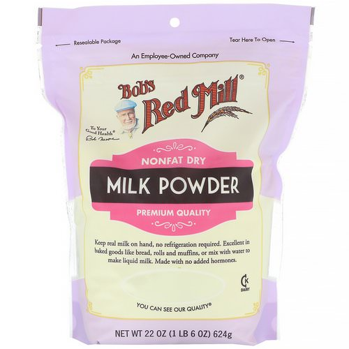 Bob's Red Mill, Milk Powder, Nonfat Dry, 22 oz (624 g) Review