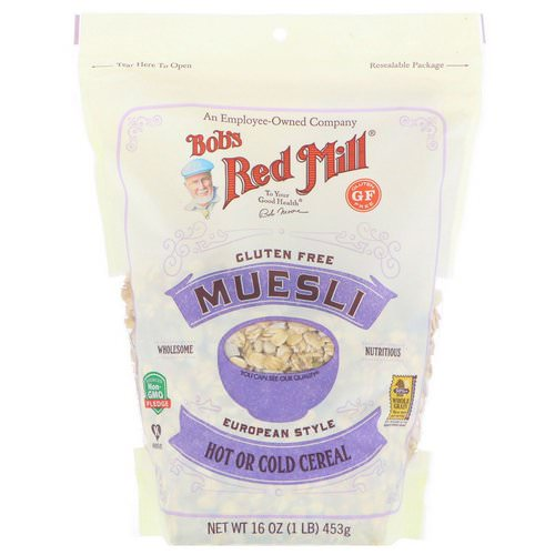 Bob's Red Mill, Muesli, Gluten Free, 16 oz (453 g) Review
