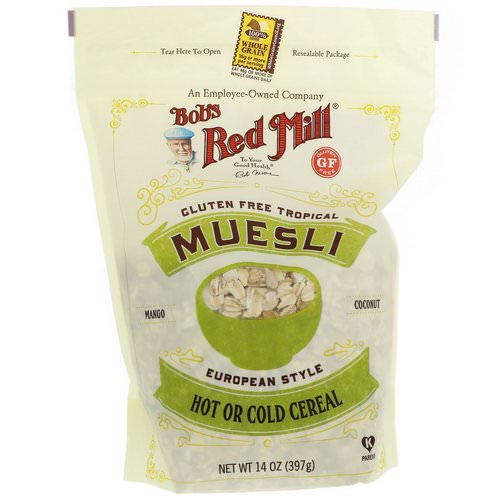 Bob's Red Mill, Muesli, Gluten Free Tropical, 14 oz (397 g) Review
