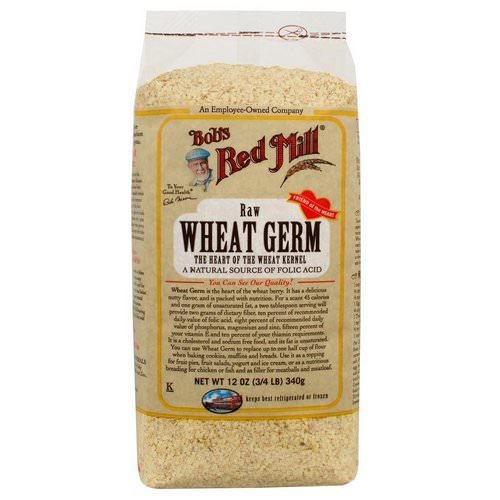 Bob's Red Mill, Natural Raw Wheat Germ, 12 oz (340 g) Review