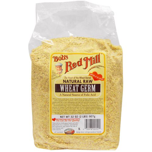 Bob's Red Mill, Natural Raw, Wheat Germ, 2 lbs (907 g) Review