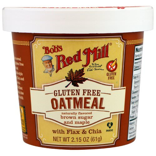 Bob's Red Mill, Oatmeal, Brown Sugar and Maple, 2.15 oz (61 g) Review