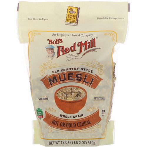 Bob's Red Mill, Old Country Style Muesli, 18 oz (510 g) Review