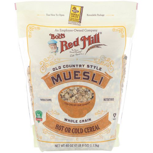 Bob's Red Mill, Old Country Style Muesli, Whole Grain, 40 oz (1.13 kg) Review