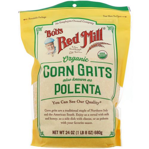 Bob's Red Mill, Organic Corn Grits, Polenta, 24 oz (680 g) Review