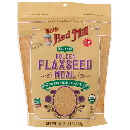 Bob's Red Mill, Organic Golden Flaxseed Meal, 16 oz (453 g) Review