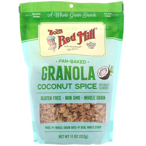 Bob's Red Mill, Pan-Baked Granola, Coconut Spice, 11 oz (312 g) Review