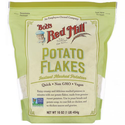 Bob's Red Mill, Potato Flakes, Instant Mashed Potatoes, 16 oz (454 g) Review