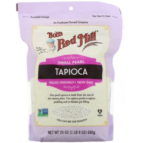 Bob's Red Mill, Small Pearl Tapioca, 24 oz (680 g) Review