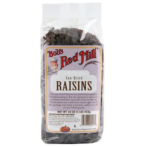 Bob's Red Mill, Sun Dried Raisins, 16 oz (453 g) Review