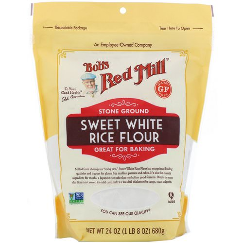 Bob's Red Mill, Sweet White Rice Flour, 24 oz (680 g) Review