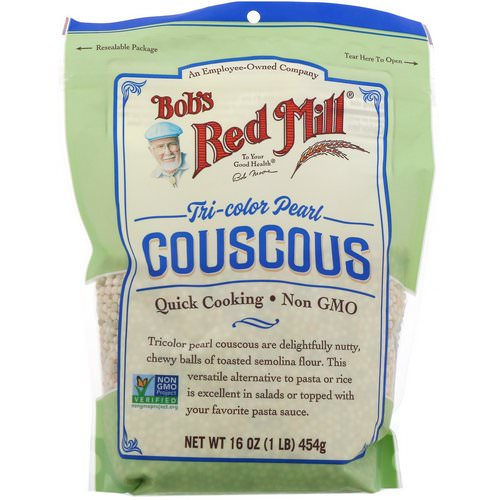 Bob's Red Mill, Tri-Color Pearl Couscous, 16 oz (454 g) Review