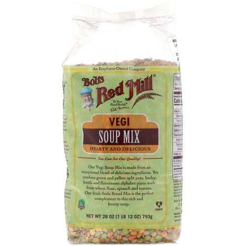 Bob's Red Mill, Vegi Soup Mix, 1 lb (793 g) Review