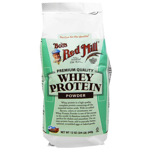 Bob's Red Mill, Whey Protein Powder, 12 oz (340 g) Review