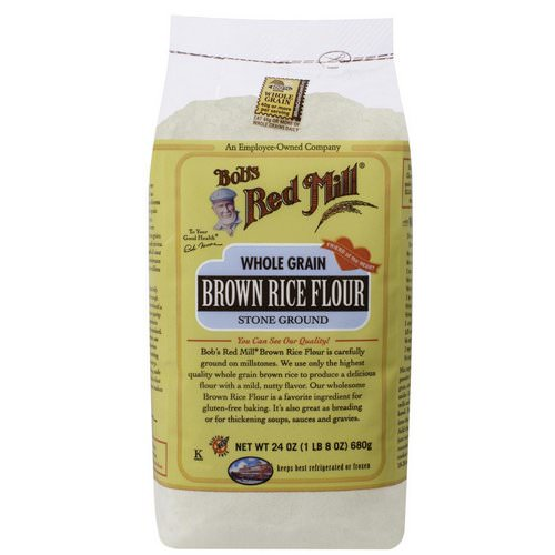 Bob's Red Mill, Brown Rice Flour, Whole Grain, 24 oz (680 g) Review