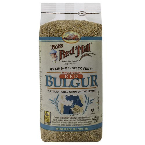 Bob's Red Mill, Whole Grain Red Bulgur, 1.75 lbs (793 g) Review