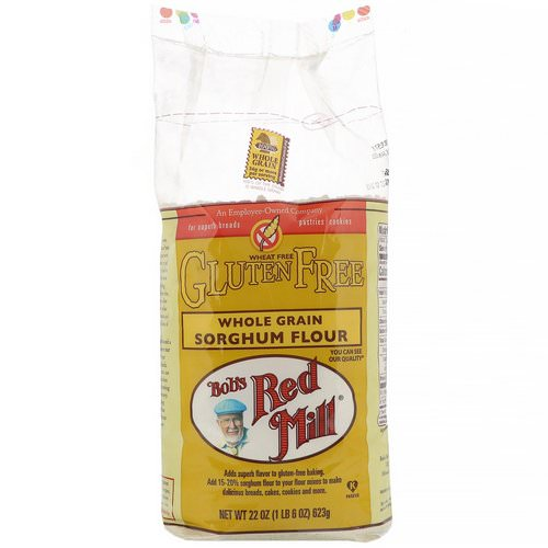 Bob's Red Mill, Whole Grain Sorghum Flour, Gluten Free, 22 oz (623 g) Review