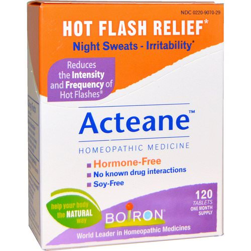 Boiron, Acteane, 120 Tablets Review